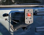 Jeep JK Spare Tire Lift Bracket