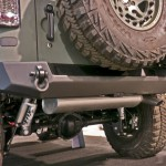 Jeep JK Wrangler Core Series Rear Bumper with Smooth Motion Tire Carrier